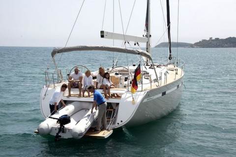 Grenadines in Bareboat Yacht Charter aboard New Bavaria 55 Cruiser