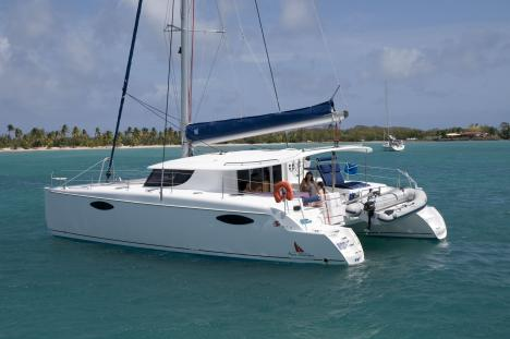 Fountaine-Pajot Orana 44 Low Centre of Gravity Ensures Safe Yacht Charter ...