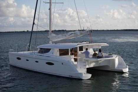 Fountaine Pajot Salina 48 Catamaran Comfort and Hull Space Advances Lavezzi ...