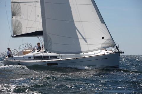 Jeanneau Sun Odyssey 44i New Big Space Design Luxury Yacht Charter Game Plan ...